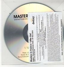 (BS338) Masters In France, Little Girl - DJ CD