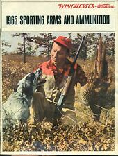 WINCHESTER-WESTERN 1965 Sporting Arms and Ammunition illustrated 40-page catalog