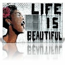 "Wall26 ""Life is Beautiful"", Thierry Guetta - Mr. Brainwash - 12x18 inches"