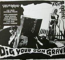 TEST ICICLES - Dig Your Own Grave (CD/DVD) FREE UK P+P ........................