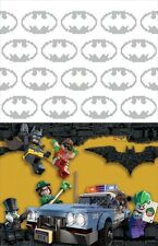 LEGO BATMAN MOVIE PLASTIC TABLE COVER ~ Birthday Party Supplies Decoration Cloth