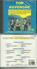 RARE / CD - TOP AUVERGNE / CELESTIN CALVET, NADINE AMO( ACCORDEON ) NEUF EMBALLE