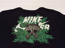 Nike SB Dri Fit Tee Raccoon Men XXL Supreme Skateboard Dunk Black Rare