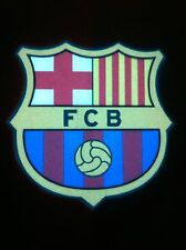 Barcelona FCB Soccer LED Sound Activated, Lights Up, LED Light T-Shirt All Sizes
