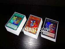 Yugioh Wind-Up Deck! Shark Rat Magician Rabbit Hunter Factory Volcasaurus Utopia