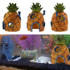 Spongebob Squarepants 13cm Pineapple House Fish Tank Aquarium Ornament Ywllow