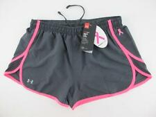 Under Armour NEW Womens Small Escape Pink Breast Cancer Awareness Running Shorts