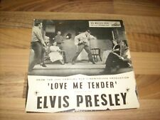 Elvis Presley 1956 LOVE ME TENDER EP   (HIS MASTER'S VOICE LABEL) 7EG 8199