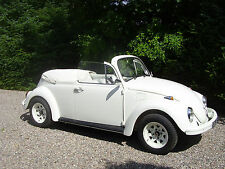 Wedding Car Hire - Old White Convertible Beetle