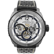 Armand Nicolet L09 Titanium Alligator Men's Watch T619A-AG-P760NR4     LE of 150