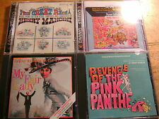 Henry Mancini [3 CD Soundtrack] Revenge Pink Panther + the Party + Great Race