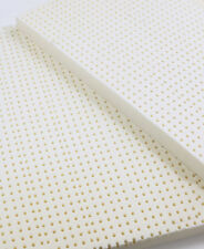 100% Natural Latex Mattress Topper Medium Firmness - 2 inch, TXL Size