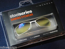Gunnar Optiks SteelSeries Scope Advanced Computer/Gaming Eyewear - Snow