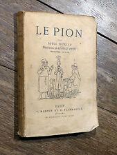Louis Durieu LE PION Éd. Marpon & Flammarion 1882 ill. Léonce Petit