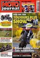 MOTO JOURNAL 1780 HONDA CBR 1000 Ten Kate GSX-R SUZUKI YAMAHA R1 BMW R1200 GUZZI