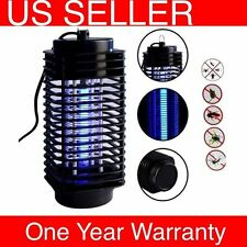 H31 110V Electric Mosquito Fly Bug Insect Zapper Killer With Trap Lamp Black New