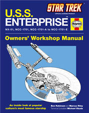 Star Trek U.S.S. Enterprise Haynes Owners Workshop Manual Trade Book NEW UNREAD