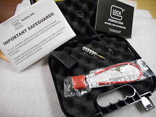 NEW Glock Factory Clam Shell Pistol Case with manual, lock, loader, brush
