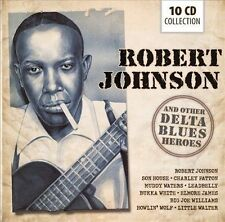 Robert Johnson and Other Delta Blues Heroes by Various Artists (CD, Feb-2013, 10