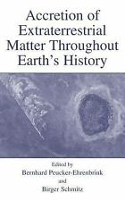 Accretion of Extraterrestrial Matter Throughout Earth's History