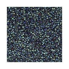 Miyuki Seed Beads 11/0 Picasso Cobalt Blue 11-4518 23g Round Opaque Rocaille