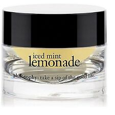 PHILOSOPHY ICED MINT LEMONADE LIP POLISHING SUGAR SCRUB ~ FULL SIZE, NEW IN BOX