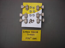Gibson Deluxe Tuners Triangle Vintage 1970s w/screws grommets Les Paul J-45 J-50
