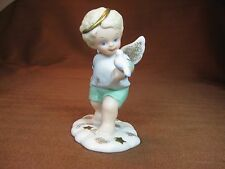 """Tender Hearts Collection Katharine Stevenson 1996 Cherub """"Tip-toe in the Clouds"""""""