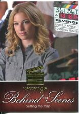 Revenge Season 1 Behind The Scenes Chase Card BTS-06 Setting the Trap