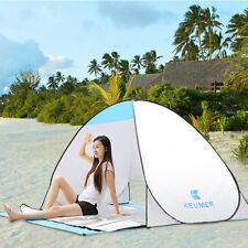 ANTI-UV AUTOMATIC POP UP BEACH TENT SUNSHADE QUICK OPEN SHELTER CANOPY SWIMMING
