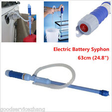 Hand Tools Liquid Transfer Siphon Pump Battery Powered Gas Oil Water Fish Tank