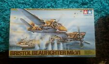Tamiya 1/48 Bristol Beaufighter Mk.VI Military Aircraft Great Condition RARE