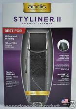 ANDIS PROFESSIONAL STYLINER II 2 CORDED TRIMMER BEAUTY SALON BARBOR  #26700