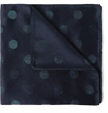 Rare! NWT Paul Smith Silk Polka Dot Pocket Square/Handkerchief, Made in Italy.