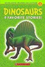 Dinosaurs 4 Favorite Stories Beginner Reader Level 1, Learn to Read