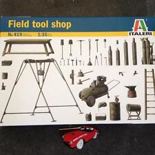 ITALERI 73419 1:35 FIELD TOOL SHOP MODEL KIT