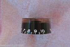Gibson USA BLACK SPEED KNOB for YOUR LES PAUL CUSTOM STANDARD STUDIO ETC! #T385