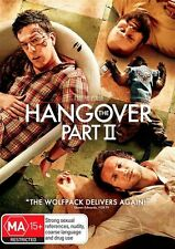 THE HANGOVER Part II DVD R4 - NEW / Sealed