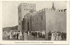 BELGIQUE BRUXELLES EXPO UNIVERSELLE 1910 pavillon espagnol
