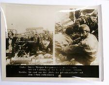 PHOTO 39/45 : KRIEGSMATERIAL VERLOREN / HÖLLE DER ATLANTIKSCHLACHT ENTKOMMEN