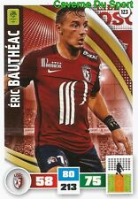 123 ERIC BAUTHEAC FRANCE LOSC LILLE.OSC CARD ADRENALYN LIGUE 1 2017 PANINI