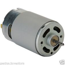 DC 12V High Torque Multipurpose Brushed Motor for PCB Drills & DIY Applications