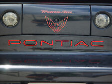 pontiac trans am firebird lettering kit - other colors available