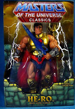 """MASTERS OF THE UNIVERSE Classics_HE-RO 6 """" action figure_SDCC 2009 Exclusive_MIB"""