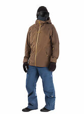 NEW $499 The North Face Mens Fuse Brigandine 3L Jacket sz  M BROWN  FIELD 2017