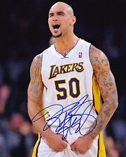 Robert Sacre autographed 8x10 Los Angeles Lakers Free Shipping