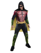 "Robin, Mens Arkham City Muscle Costume,Larg,CHEST 42-44"",WAIST 34-36"",INSEAM 33"""