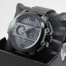 NEW AUTHENTIC DIESEL IRONSIDE BLACK CHRONOGRAPH MEN'S DZ4362 WATCH