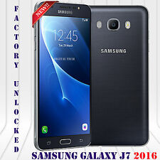 "Samsung Galaxy J7 2016 J710G 5.5"" HD 13MP 16GB LTE Android Unlocked Phone Black"
