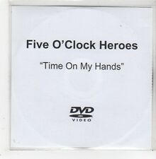 (GE61) Five O'Clock Heroes, Time On My Hands - DJ DVD